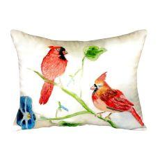 Betsy'S Cardinals No Cord Pillow 16X20