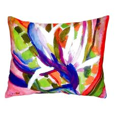 Betsy'S Bird Of Paradise No Cord Pillow 16X20