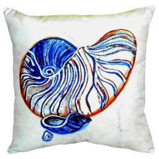 Betsty'S Nautilus No Cord Pillow 18X18