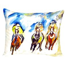 Three Racing No Cord Pillow 16X20