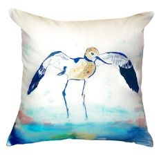 Betsy'S Avocet No Cord Pillow 18X18