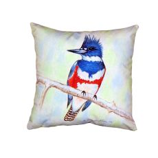 Kingfisher No Cord Pillow 18X18