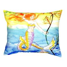 Betsy'S Mermaid No Cord Pillow 16X20