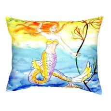 Diving Mermaid No Cord Pillow 16X20