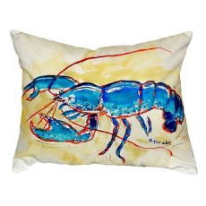 Blue Lobster No Cord Pillow 16X20