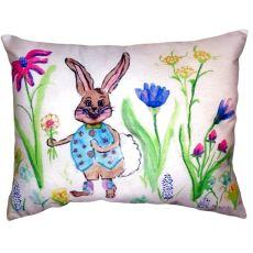Happy Bunny No Cord Pillow 16X20
