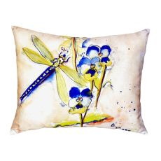 Blue Dragonfly No Cord Pillow 16X20