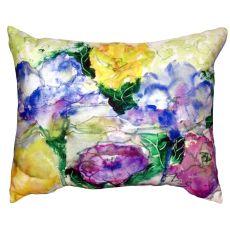 Watercolor Garden No Cord Pillow 16X20