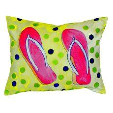 Flip Flops No Cord Pillow 16X20