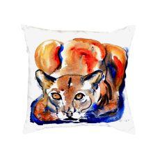 Cougar No Cord Pillow 18X18