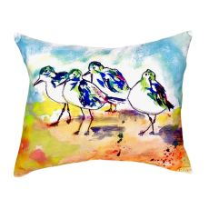Sanderlings No Cord Pillow 16X20