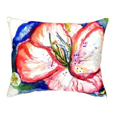 Hibiscus No Cord Pillow 16X20