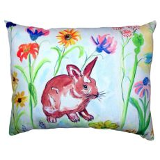 Whiskers Bunny No Cord Pillow 16X20