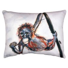 Betsy'S Monkey No Cord Pillow 16X20
