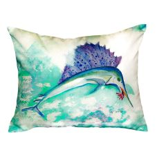 Betsy'S Sailfish No Cord Pillow 16X20
