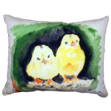 Chicks No Cord Pillow 16X20