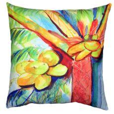 Cocoa Nut Tree No Cord Pillow 18X18