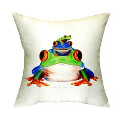 Stacked Frogs No Cord Pillow 18X18