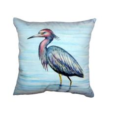 Dick'S Little Blue Heron No Cord Pillow 18X18