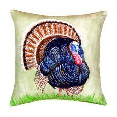 Wild Turkey No Cord Pillow 18X18