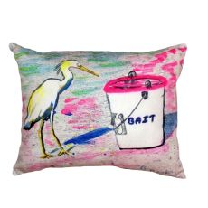 Hungry Egret No Cord Pillow 16X20