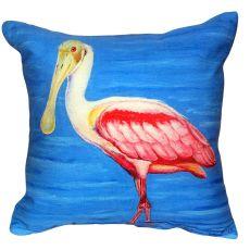 Dick'S Spoonbill No Cord Indoor/Outdoor Pillow 18X18