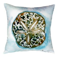 Betsy'S Sand Dollar No Cord Pillow 18X18