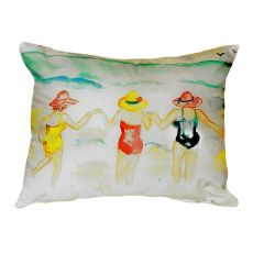 Ladies Wading No Cord Pillow 16X20