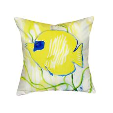 Yellow Tang No Cord Pillow 18X18