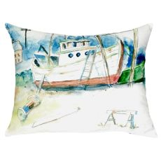 Old Boat No Cord Pillow 16X20