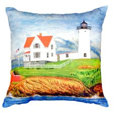 Nubble Lighthouse No Cord Pillow 16X20