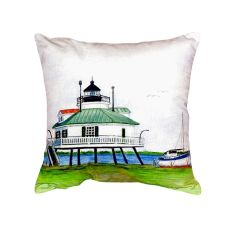 Hopper Strait Lighthouse No Cord Pillow 16X20