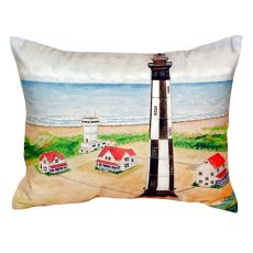 Cape Henry Lighthouse No Cord Pillow  16X20