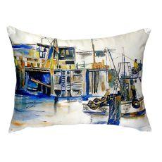 Fishing Boat No Cord Pillow 16X20