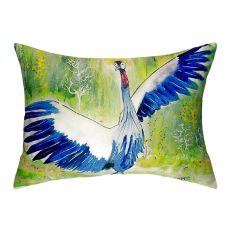 Dancing Crane No Cord Pillow 16X20