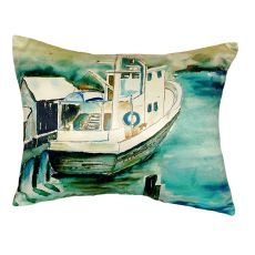 Oyster Boat No Cord Pillow 16X20