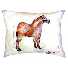 Shetland Pony No Cord Pillow 16X20