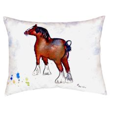 Clydesdale No Cord Pillow 16X20
