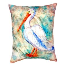 Pelican On Rice No Cord Pillow 16X20