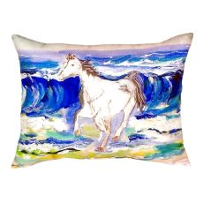 Horse & Surf No Cord Pillow 16X20