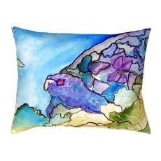Purple Turtle No Cord Pillow 16X20