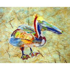 Heathcliff Pelican No Cord Pillow 16X20