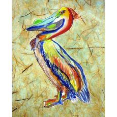 Sylvester Pelican No Cord Pillow 16X20