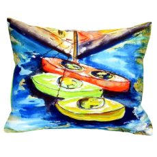 Kayaks No Cord Pillow 16X20