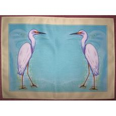 Snowy Egret Place Mat Set Of 4