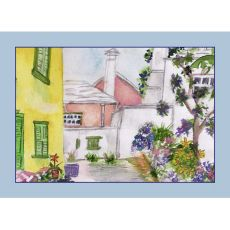 Yellow House Place Mat Set Of 4