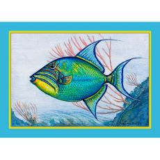 Trigger Fish Place Mat Set Of 4