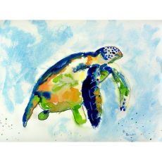 Blue Sea Turtle Place Mat Set Of 4