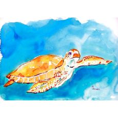 Brown Sea Turtle Place Mat Set Of 4