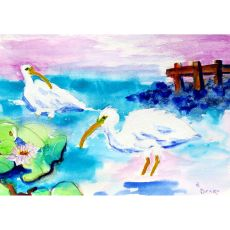 Betsy'S White Ibis Place Mat Set Of 4